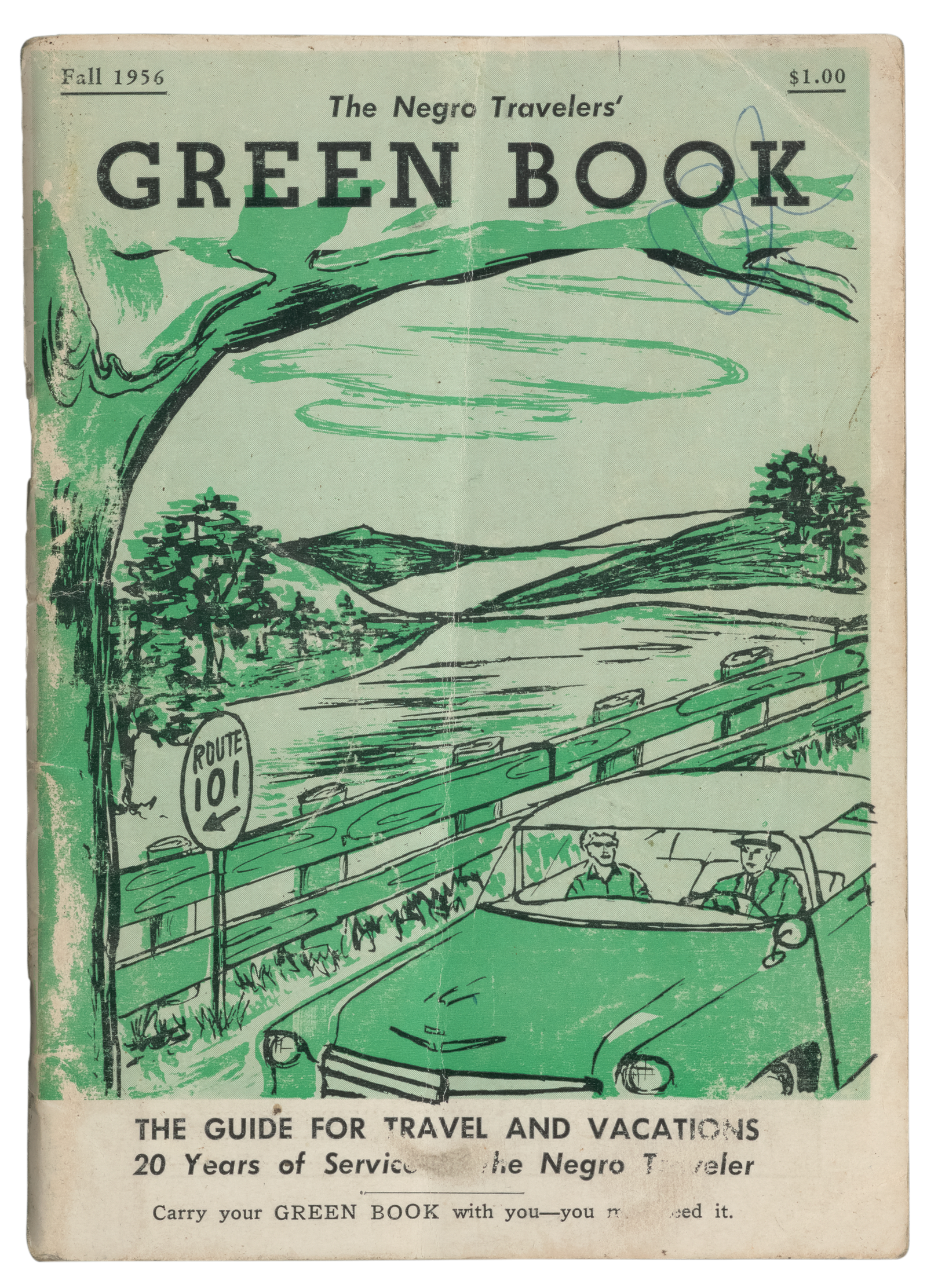 The Negro Travelers' Green Book, 1956