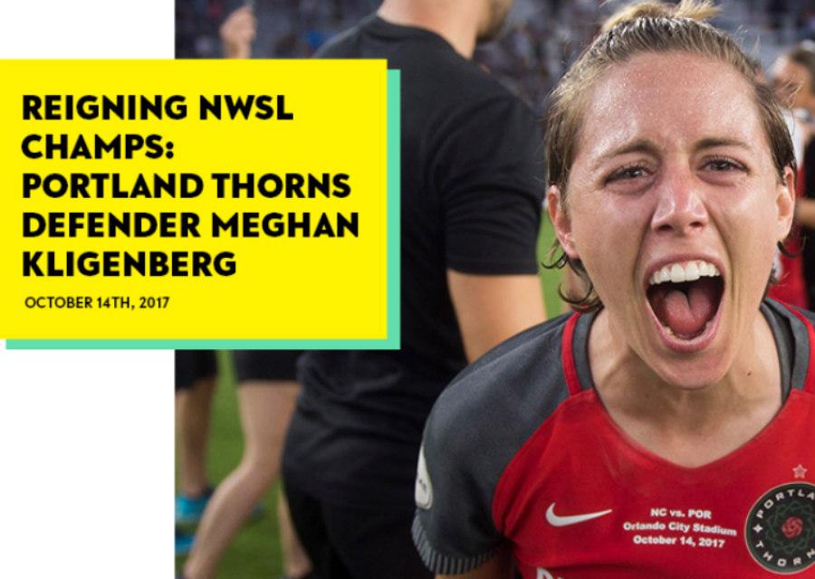 Portland Thorns' Meghan Klingenberg