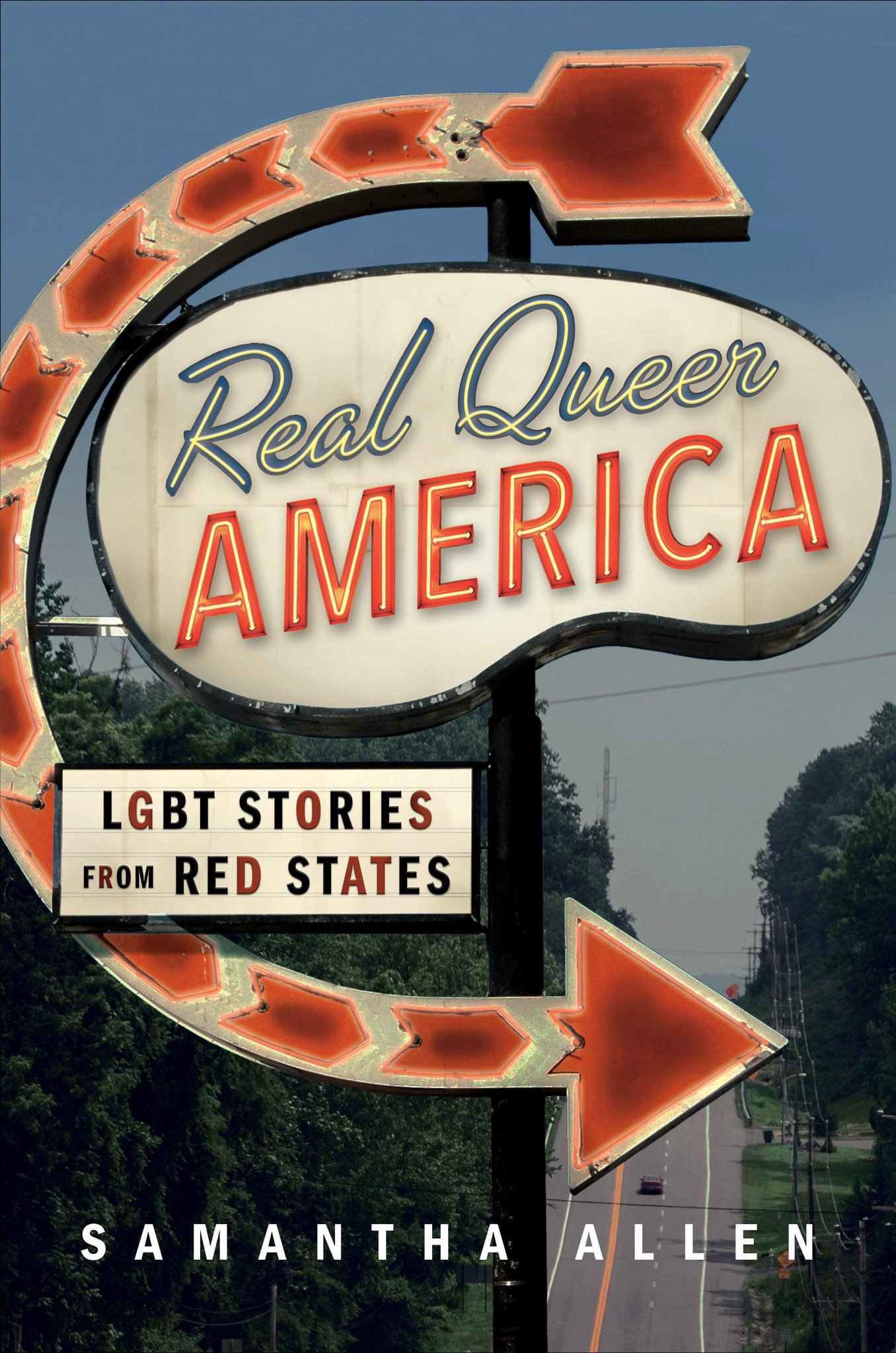 Real Queer America by Samantha Allen book cover