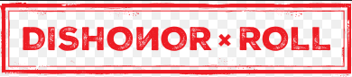 Red DishonorRoll logo