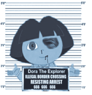 Dora the Explorer as an undocumented immigrant