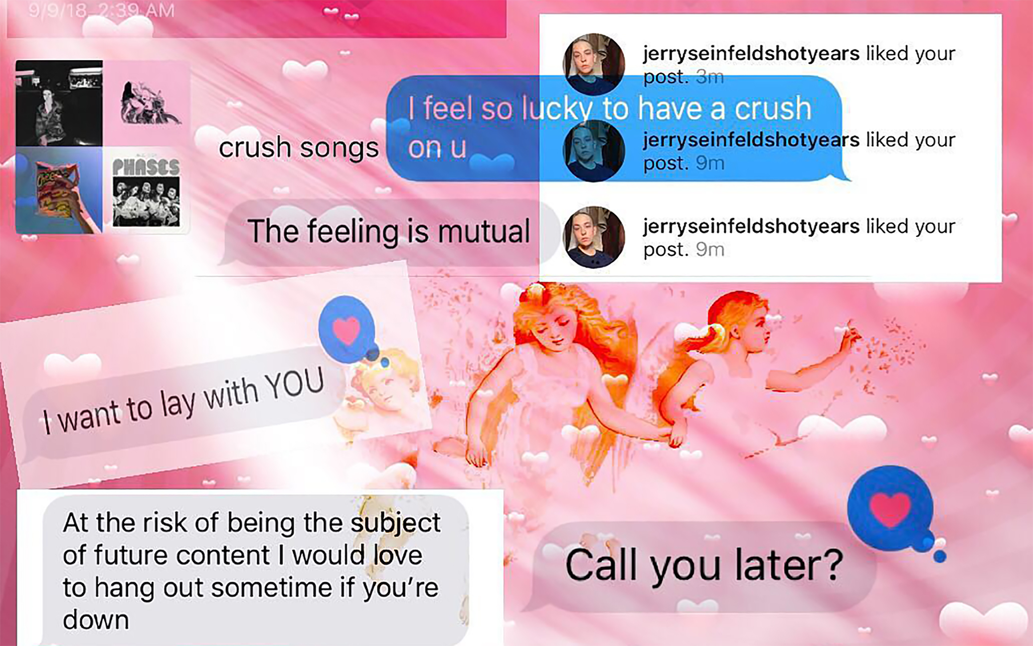 A meme created by @atmfiend about having a crush