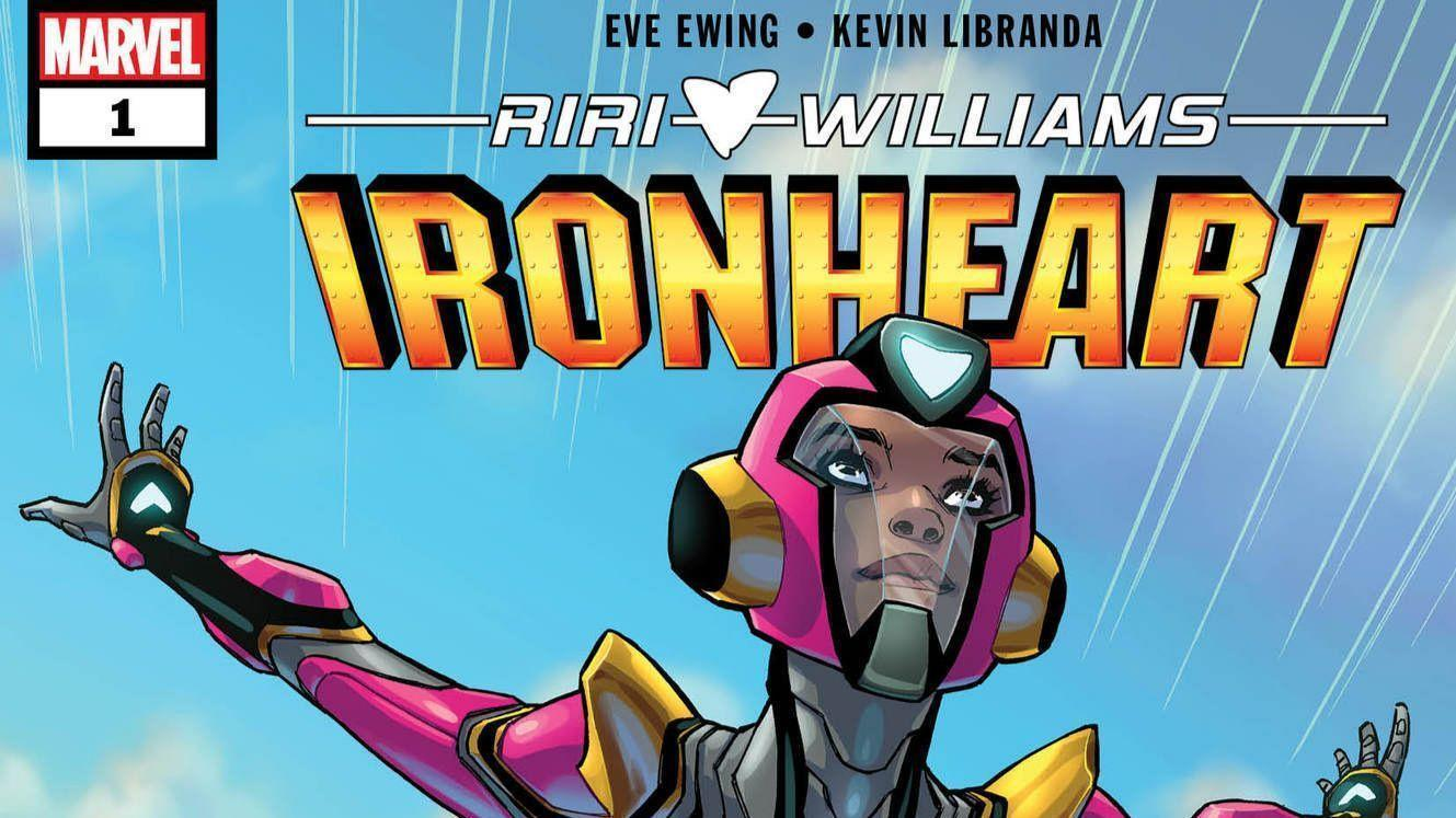 Riri Williams in the new Ironheart