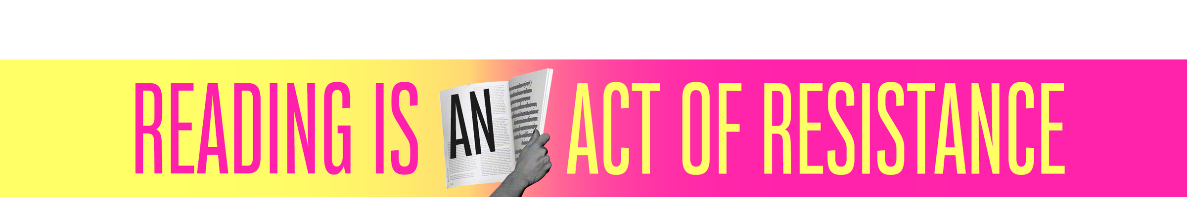 Reading is an act of resistance - Bitch Media x Black & Pink