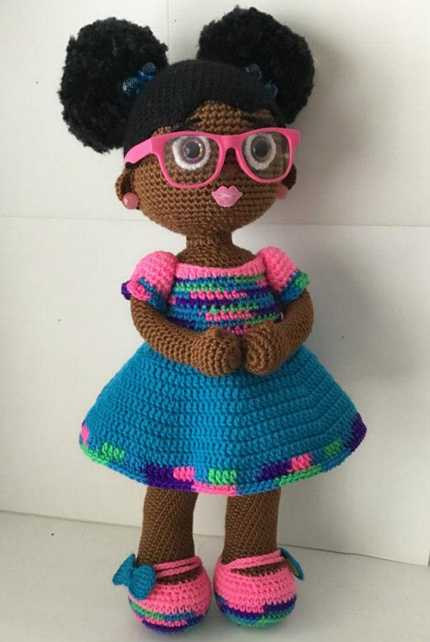 crochet doll from MyKindaThing
