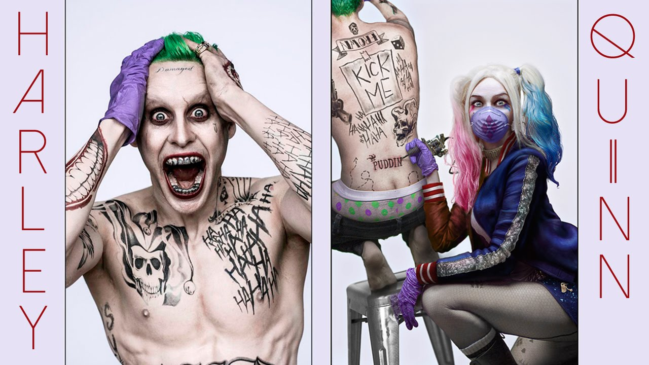 Harley and the Joker in Suicide Squad
