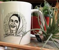 Phoolan Devi Coffee Mug   Bitch Media