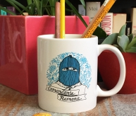 Comandante Ramona Coffee Mug   Bitch Media