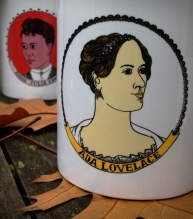 Ada Lovelace coffee mug | Bitch Media