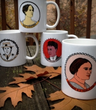 "Adventures in Feministory ""Innovators"" Mug Set 