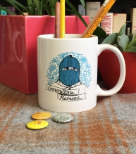 Comandante Ramona Coffee Mug | Bitch Media
