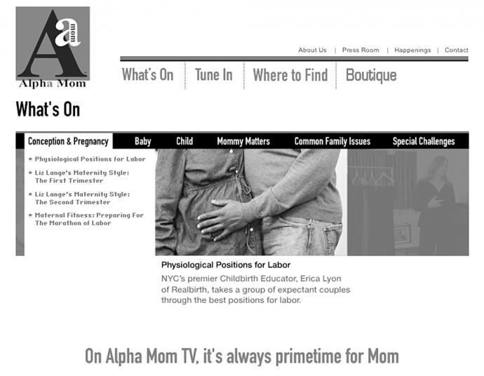 Alpha Mom, Omega Journalism