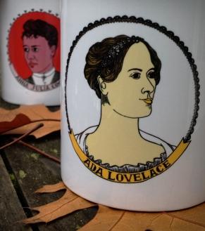 Ada Lovelace coffee mug | Bitch Media