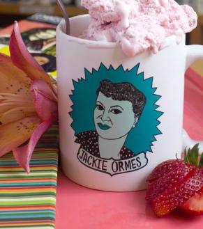 Jackie Ormes coffee mug | BitchMart