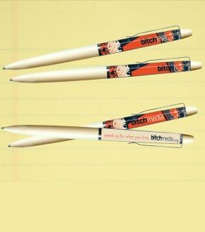 Floaty pens.