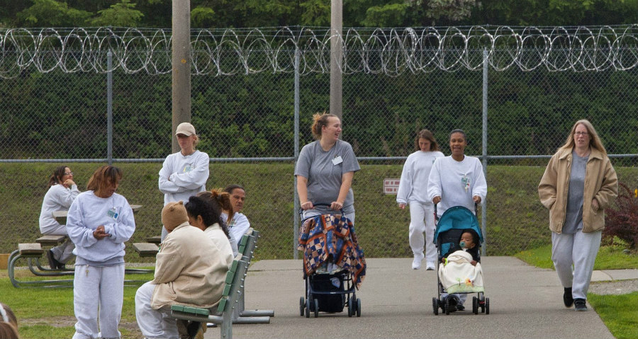 mothers in California prison