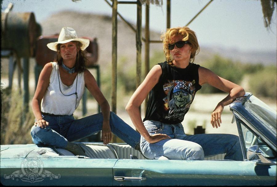 Susan Sarandon and Geena Davis in Thelma & Louise