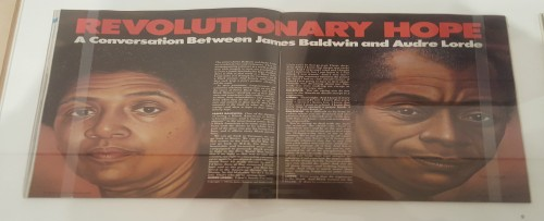 Audre Lorde and James Baldwin Brooklyn Museum