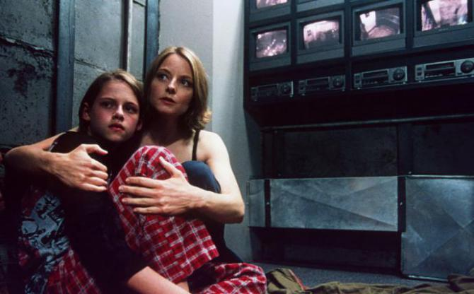 jodie foster in panic room