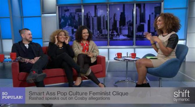 janet mock and guests on the show