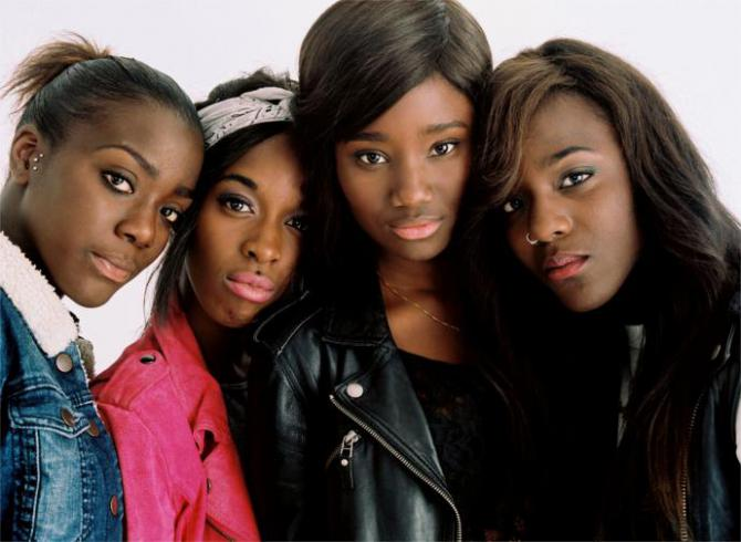 four Black girls star in Girlhood