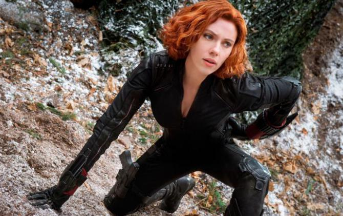 black widow in avengers