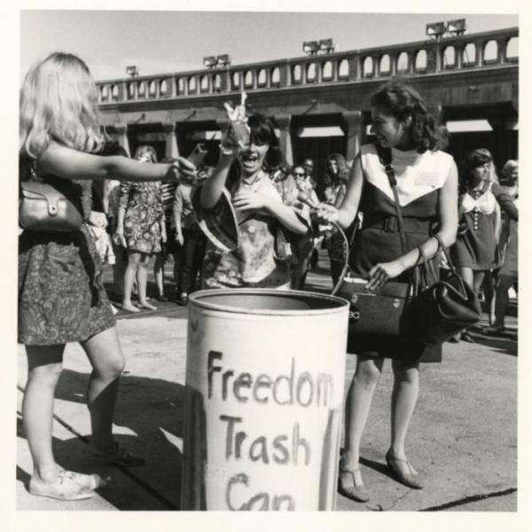 the 1968 miss america protest