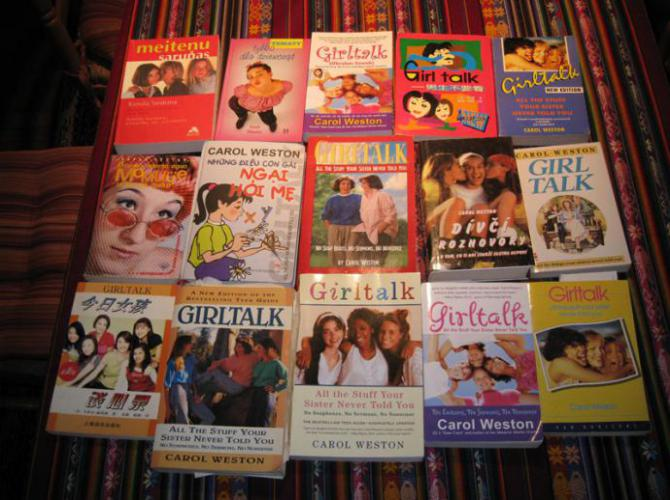 girl talk books