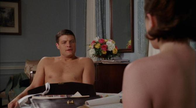 peggy topless talking to stan