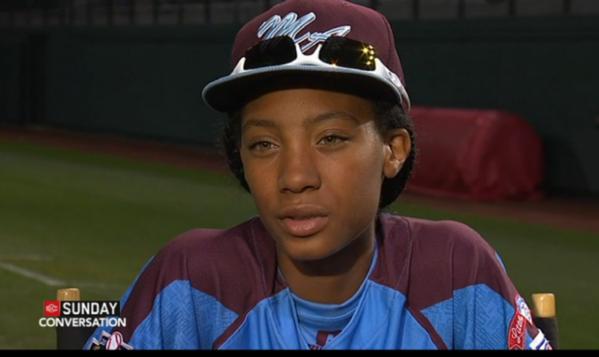 Mone Davis on an ESPN interview