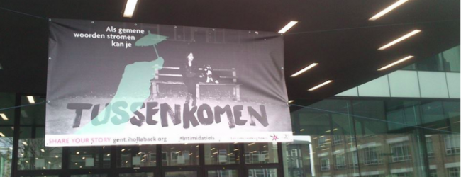 A banner in ghent