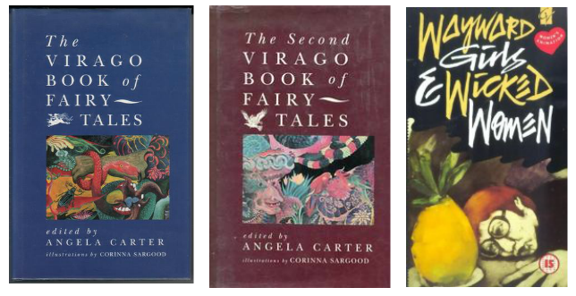 three anthologies edited by angela carter