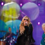 kesha performing onstage