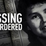 Alberta Williams in the Missing & Murdered logo
