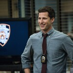a white man plays a police officer on Brooklyn Nine-Nine