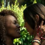 DeWanda Wise as Nola and Ilfenesh Hadera as Opal on She's Gotta Have It