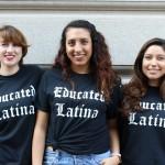 Educated Latina t-shirts