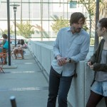 Lily Collins and Keanu Reeves in To The Bone