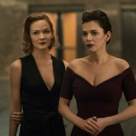 Louisa Krause as Anna Garner and Anna Friel as Erica Miles in The Girlfriend Experience