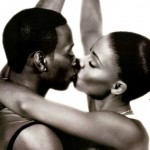 Omar Epps as Quincy and Sanaa Lathan as Monica in Love & Basketball