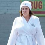 Rachel Bloom as Rebecca Bunch in Crazy Ex-Girlfriend