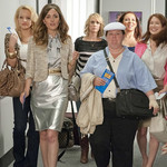 Rose Byrne, Melissa McCarthy, Maya Rudolph, Wendi McLendon-Covey, Kristen Wiig, and Ellie Kemper in Bridesmaids