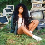 SZA on the cover of Ctrl