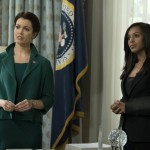 Olivia Pope and Mellie Grant on Scandal
