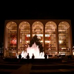 Metropolitan Opera House at night