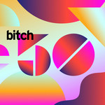 Bitch 50 header image using geometric shapes in gradient colors