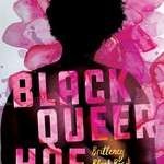 a pink and purple book with a plus-size Black woman on the cover
