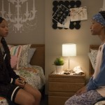 Chloe Bailey as Jazlyn Forster and Halle Bailey as Skylar Forster on Grown-ish
