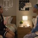 Chloe Bailey as Jazlyn Forster and Halle Bailey as Skylar Forster on Grown-ish