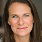 Deborah Copaken, author of Ladyparts, is a white woman with long, brown hair